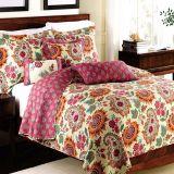 Распространение кровати гостиницы качества Quilt Washable одеяла установленное облегченное