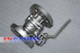 DIN PN16-40 2PC фланцевый шаровой клапан с ISO5211 крепления блока