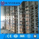 Crémaillère industrielle automatique de la mémoire as/RS d'entrepôt