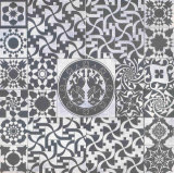 60*60 Encausticの芸術の装飾の無作法な磁器のタイルFhz6406