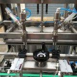 自動線形タイプペットによってびん詰めにされる食用油の充填機