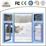 Gute Qualitätsfabrik kundenspezifisches Aluminiumflügelfenster Windows