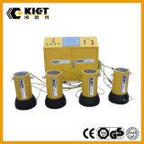 Управлением преобразования частоты двойника PLC система действующий одновременная поднимаясь