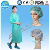 La robe chirurgicale d'hôpital, SMS a renforcé la robe chirurgicale