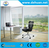 PVC 사무실 의자 지면 매트, 승진을%s 못을%s 가진 PVC 차 매트
