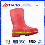 Новый красный Rainproof ботинок PVC для повелительницы (TNK60031)
