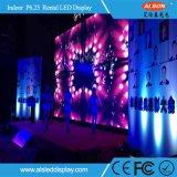 Innenmiet-Bildschirmanzeige LED-P6.25 für Stadium
