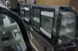 Refrigerador do indicador do bolo com as prateleiras de vidro ajustáveis (4 camadas)