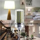 LEIDENE van het Lichaam van de LEIDENE Kleur van het Graan de Lichte E12 20W Koele Witte Zilveren Lamp van de Bol