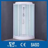 Cabines 2017 de vidro do chuveiro da cor branca da fábrica de China