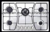 Apparecchio di cucina livellato della stufa di gas del comitato dell'acciaio inossidabile 304 (JZS4715)