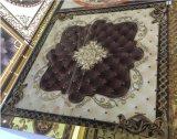 Azulejo de cerámica cristalino de oro de la alfombra para la sala de estar 1200X1200m m