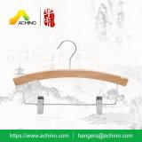 Деревянные вешалки малышей с зажимами (WKC300)
