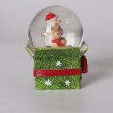 OEM Deco를 위한 귀여운 눈사람 디자인 크리스마스 눈 지구