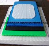 Доска PP полая/гофрировала пластичный лист 1000*2000mm*2mm, 1200*2400mm*3mm для предохранения