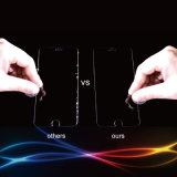 Acessórios de telefone Protetor de tela de vidro temperado protetor curvado 2,5D para iPhone 7