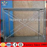 Pièces d'échafaudage galvanisées par qualité de bâti en acier de bâti de H