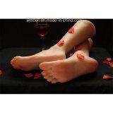 Brinquedos fêmeas do sexo do pé do brinquedo de Footfetish do clone dos modelos quentes do pé