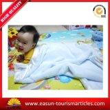 Couverture épaisse de Sherpa de garniture de satin de couverture de bébé de couverture de bébé tricotée par professionnel