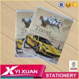 Eco Friendly Papéis de carta Clear Cover Notebook A5 Exercise Books