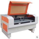 Machine de découpage de machine et de laser de gravure de laser pour le cuir