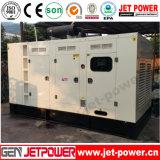 100kVA 80kw Gás Gás LPG gerador conjunto com silencioso Canopy