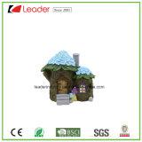 Новейшие Polyresin дом гриб волшебная сад миниатюрные для дома и сада орнаментом