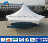 Kundenspezifische hohe Spitzen-sechseckige Pagode-Aluminiumzelt für Parteien
