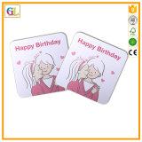 Печатание комплекта карточки подарка рождества, печатание поздравительной открытки