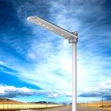 Luz de rua da iluminação 2017 esperta nova com PIR e de controle remoto solares