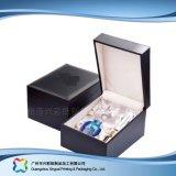 De het Verpakkende Schoonheidsmiddel van het Leer van de luxe/Doos van het Parfum/van de Gift (xc-hbc-023)