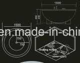 Grande Jacuzzi rotonda 1950mm con Ce e RoHS (AT-8810-1)