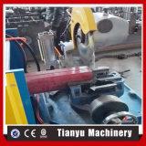 Aluminiumfallrohrdownspout-Krümmer-Rolle, die Maschine bildet