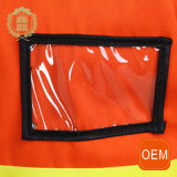 Uniforme r3fléchissant de circulation de travail de force d'OEM H, uniforme de service de nettoyage avec la bande r3fléchissante de force de H