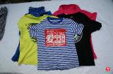 Le T-shirt propre initial d'hommes de chemise de circuit d'été utilisé vêtx en gros à New York