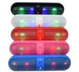 2017 최고 질 다채로운 LED 무선 Bluetooth 환약 스피커