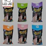 Litera de gato modificada para requisitos particulares litera respetuosa del medio ambiente de los bultos de las arenas de la bentonita del gato