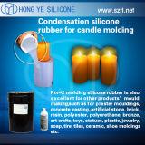 Molde da gipsita que faz o silicone/silicone de RTV