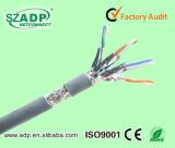 Netz LAN-Kabel des Hochgeschwindigkeitsübertragungs-blank Kupfer-CAT6A Cat7