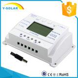 régulateur modèle T10 de charge de batteries de panneau solaire de 10AMP 12V/24vmppt+PWM