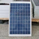 el panel solar polivinílico 20W para el sistema ligero solar