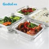 Boîtes à lunch jetable en aluminium pour les emballages alimentaires à partir d'Godfoil