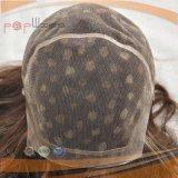 Parrucca capa piena lunga eccellente del merletto dei capelli umani del lavoro manuale