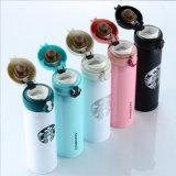 Aço Inoxidável de parede dupla caneca de café Starbucks Basculante Cup