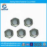 Noix de tête d'hexagone de plaque de nickel DIN 934