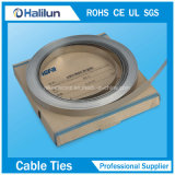 cinghia registrabile della fascia dell'acciaio inossidabile del metallo di spessore di 0.3mm