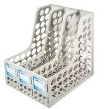 3 Spalte-Plastikstandarddatei-Tellersegment für Tischplattenbriefpapier-Gebrauch