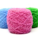 Lavoro a maglia del filato di corallo dell'acrilico del bambino del velluto delle lane di immaginazione del Knit del Crochet