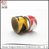 Hohe Intensitäts-reflektierendes Sicherheits-Band-Vinylrollenselbstklebendes Weiß