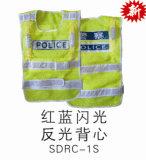 Alta visibilidade para a segurança dos trabalhadores colete reflector